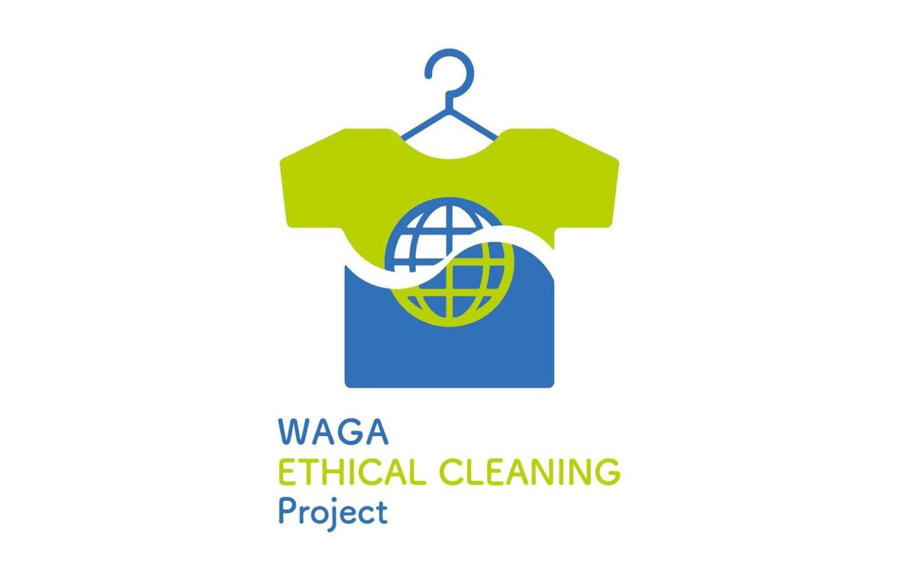 ロゴデザイン|WAGA ETHICAL CLEANING Project